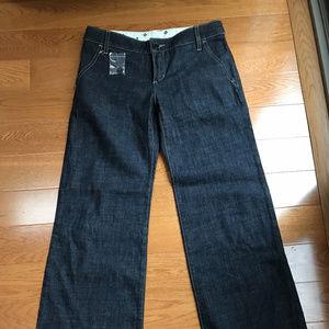 BCBG MaxAzaria High-waisted Wide-leg Jeans